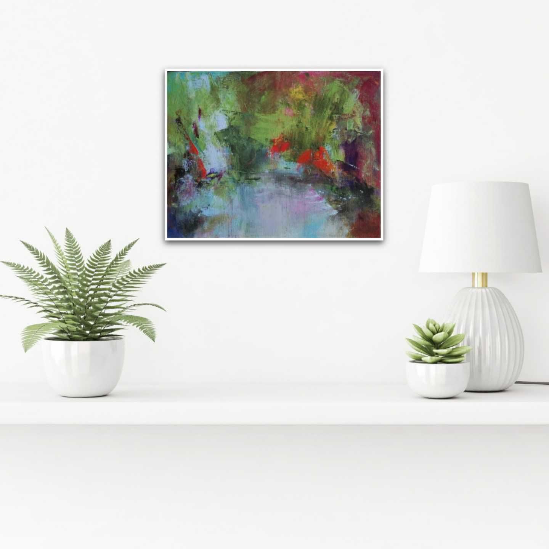 Monets Gartenteich Interior Design